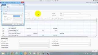 How to Create and Run a Simple Account Schedule in Dynamics NAV 2013