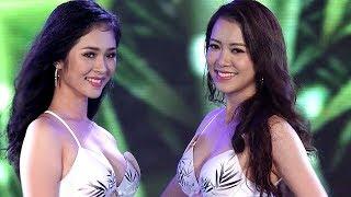 Hoa hậu Việt Nam 2018 đốt mắt khán giả trong phần thi bikini - Hoa Hậu Việt Nam 2018