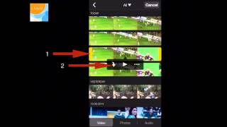 Slow Faster Motion Videos Using Imovie In Iphone Ipad Youtube