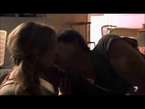 Josh and Maddy kiss and sleep together scene ep 6053