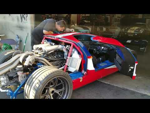 Close Your Eyes And Listen To The Superformance Ford GT's V6