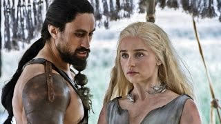 Daenerys conoce a Khal Moro | Juego de Tronos 6x01 Español HD