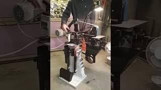Bandschleifer- Eigenbau - Messerschleifer - Rohrschleifer - DIY