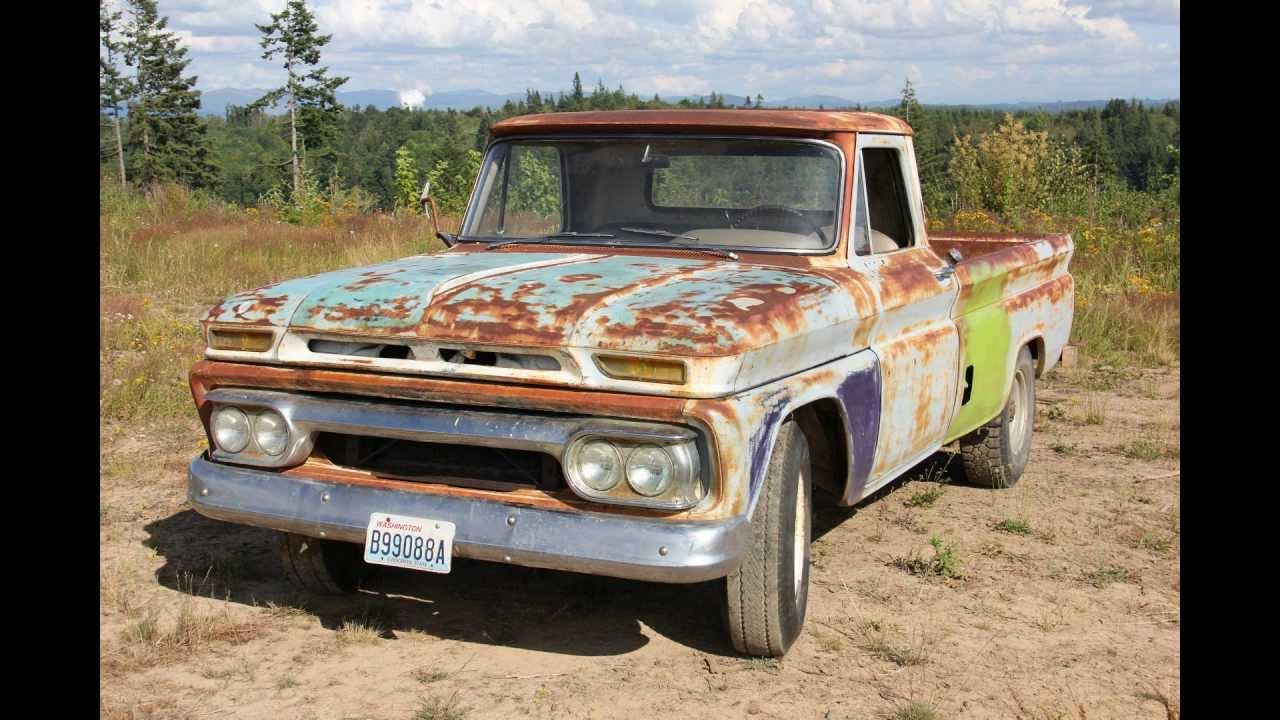 1966 GMC 3/4 ton pickup w/351E