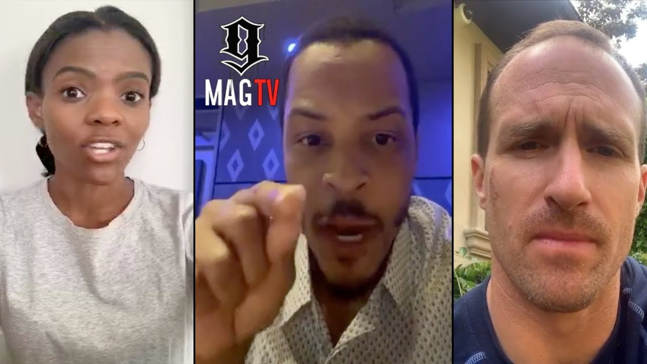 T.I. Cancels Candace Owens & Drew Brees! ????
