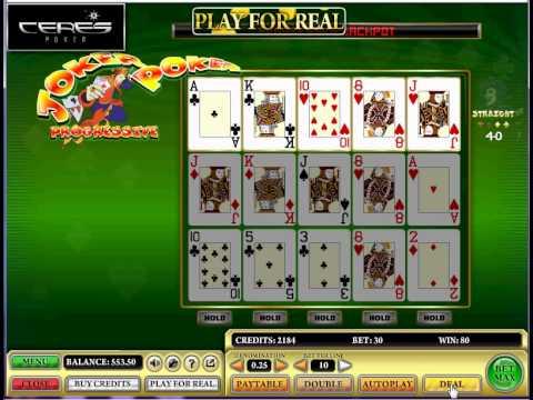 Play JOKER POKER (Video Poker) Online For Free