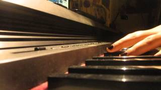 tom waits ice cream man piano cover by me