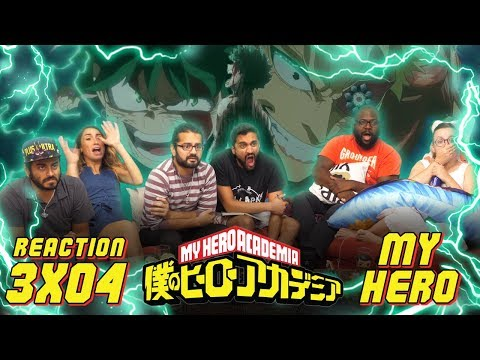 My Hero Academia - 3x4 My Hero - Group Reaction
