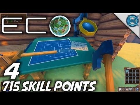 Eco | EP 4 | 715 Skill Points | Let's Play Eco Gameplay (S-1)