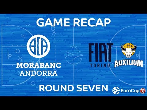 Highlights: MoraBanc Andorra - FIAT Turin