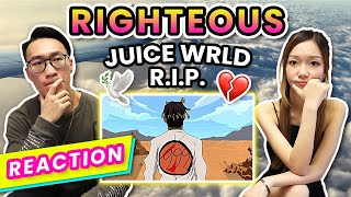 ⚡️Juice WRLD - Righteous ✦ MV 反應 REACTION (中文字幕 | ENG Sub)⚡️