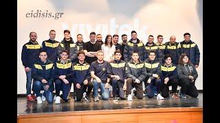 Ο Αετός Κιλκίς τίμησε την Εβίνα Μάλτση - Eidisis.gr webTV