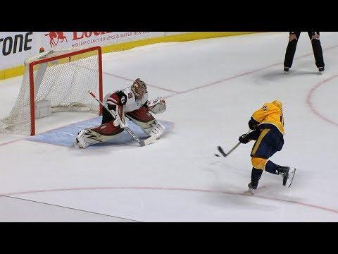 Smith scores SO winner to back Rinne, Predators