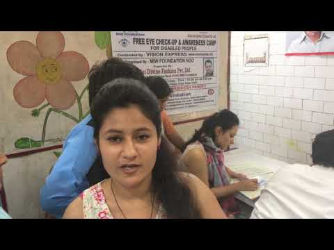 MIW FOUNDATION NGO CAMP HEALTH CAMP FOR UNDERPRIVILEDGE CHILDREN