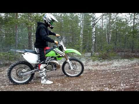 KX 250 FMF Gnarly Pipe test 2