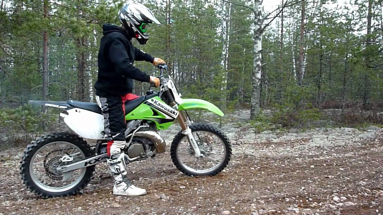 How Long Kx250 Pipe