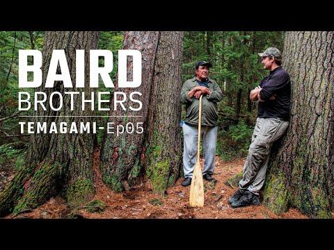 Bushcraft Lessons from Aboriginal Elder | Baird Bros. Temagami Wilderness Ep. 5