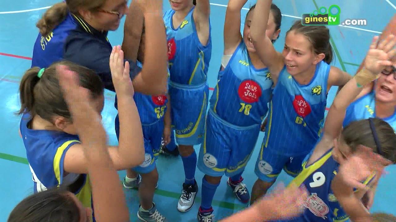 El Torneo 'Villa de Gines' de baloncesto congrega a 300 jugadores de distintas categorías