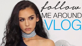 FOLLOW ME AROUND VLOG: Wedding Dresses, Sleepovers & Car Rides