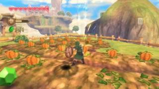 HD Gameplay - The Legend of Zelda Skyward Sword (Pumpkin Fun)