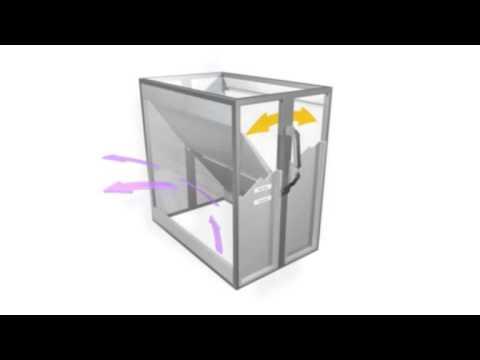 wheelabrator group lackierkabine montage u luftstrom youtube. Black Bedroom Furniture Sets. Home Design Ideas