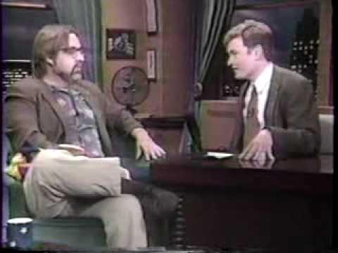 Popular Cartoon Creator being interviewed by a popular Irish Talkshow Host
