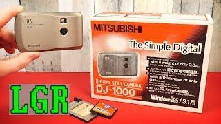 Mitsubishi DJ-1000: World's Smallest Digital Camera (in 1997!)