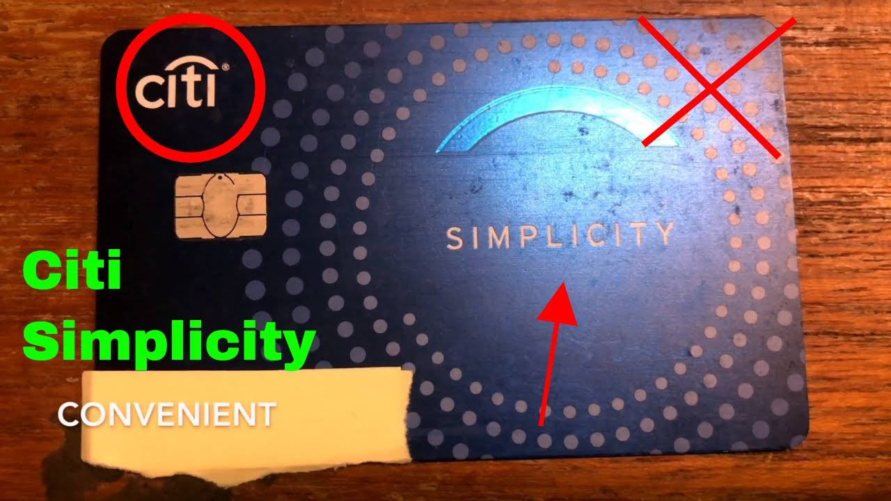 ✅ Citi Simplicity Credit Card Review 🔴
