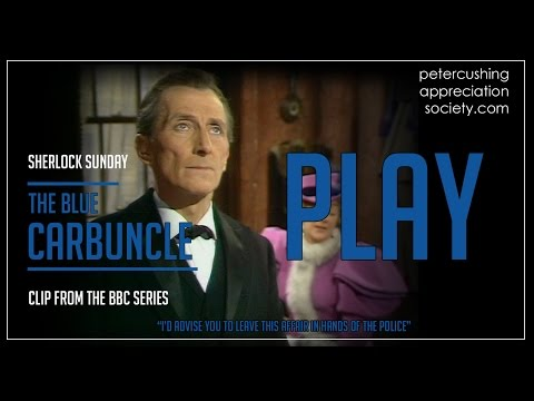 'Peter Cushing In 'The Blue Carbuncle''