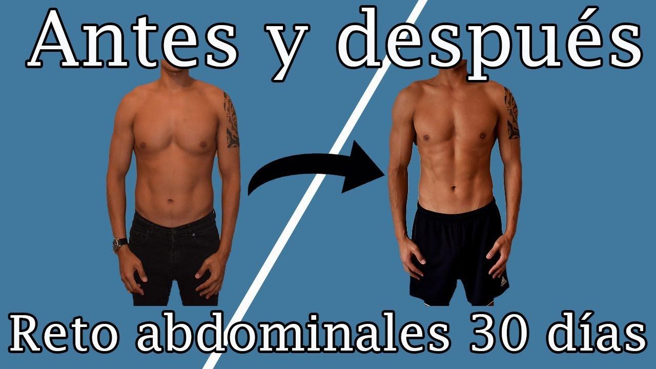 Planchas para abdomen plano hombres