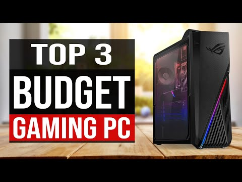 TOP 3: Best Budget Gaming PCs 2020