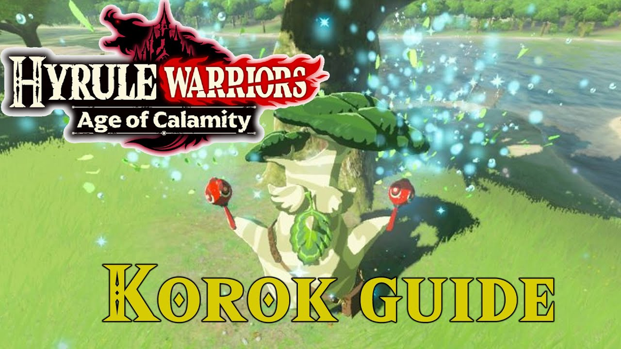 Guia Completo De Koroks Hyrule Warriors Age Of Calamity Youtube