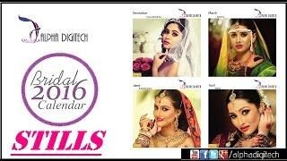Cover images Alpha Digitech Bridal Calendar Photo Shoot 2016 Stills