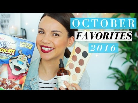 October Favorites 2016! ◈ Ingrid Nilsen