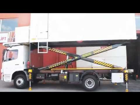 Havalimanı İkram Aracı | Aircraft Catering Vehicle - Miles