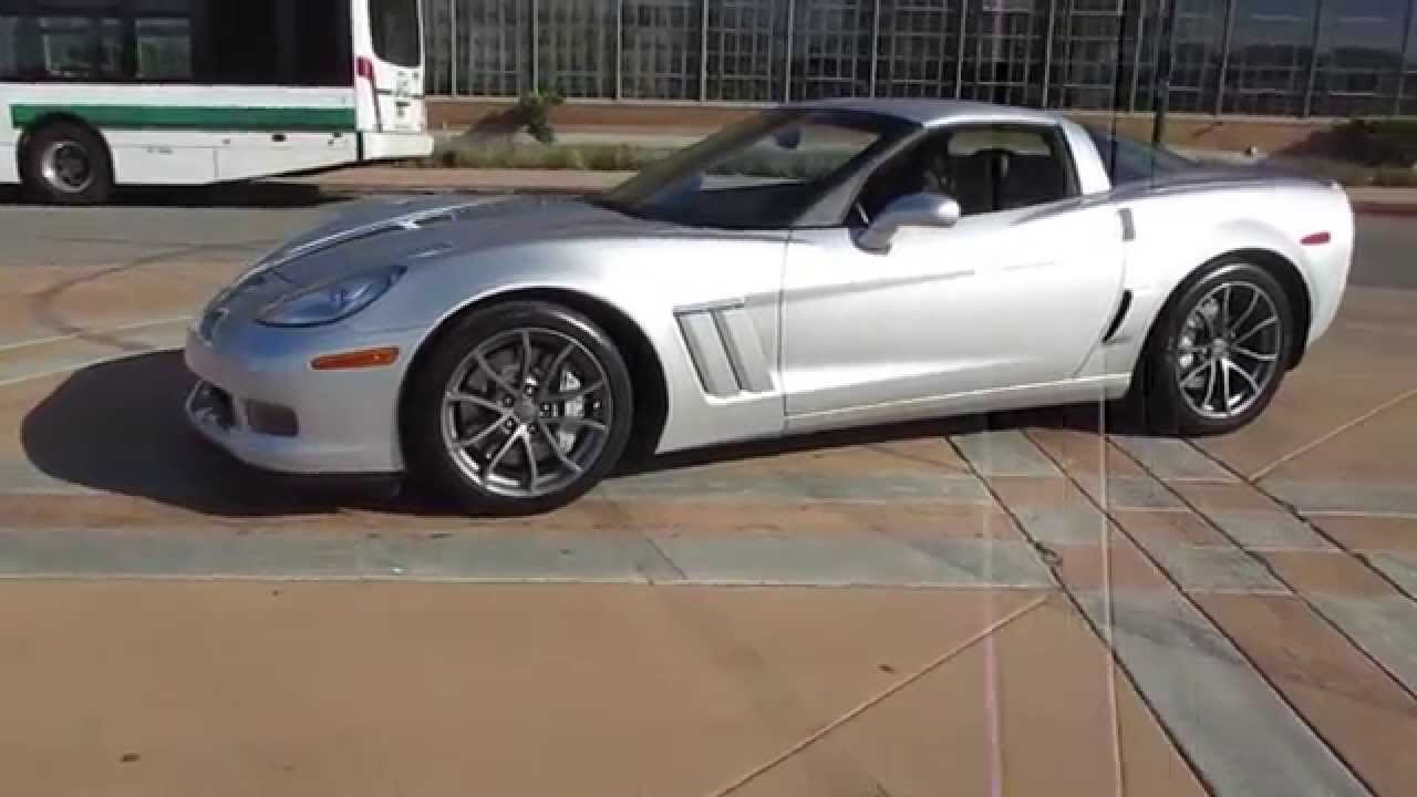 2013 silver chevrolet grand sport corvette walkaround youtube. Black Bedroom Furniture Sets. Home Design Ideas