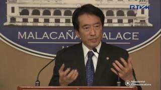 Press Conference by Presidential Spokesperson Ernesto Abella with Mr. Yasuhisa Kawamura 1/12/2017