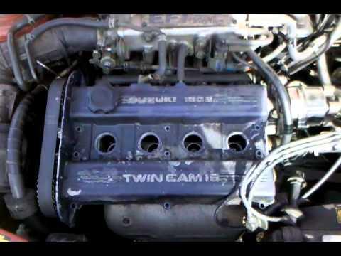 meet taylor 1989 suzuki swift gti project car. - youtube