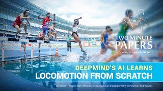 DeepMind's AI Learns Locomotion From Sc...