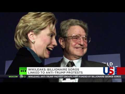 Billionaire Soros linked to anti-Trump protests - WikiLeaks