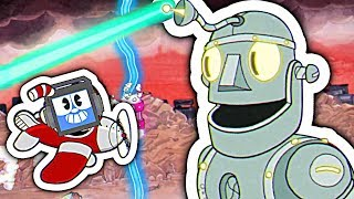 CUPHEAD - DEFEATING the ROBOT Boss! Dr. Kahl's Robot ► Fandroid the Musical Robot!