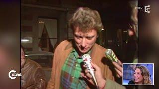 Laura Smet émue par une archive de Johnny Hallyday - C à vous - 20/11/2014