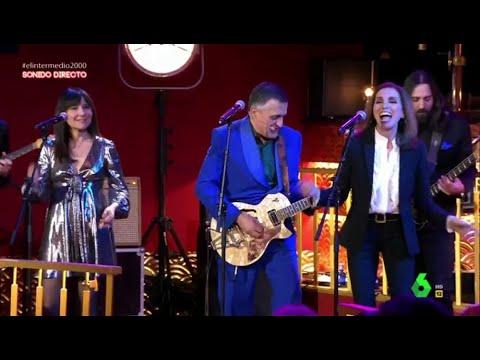Wyoming canta 'Maneras de Vivir' junto a Amaral y Ana Belén en El Intermedio