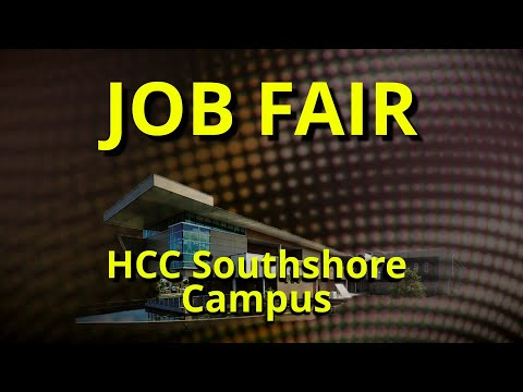 Job Fair @ HCC Southshore Campus