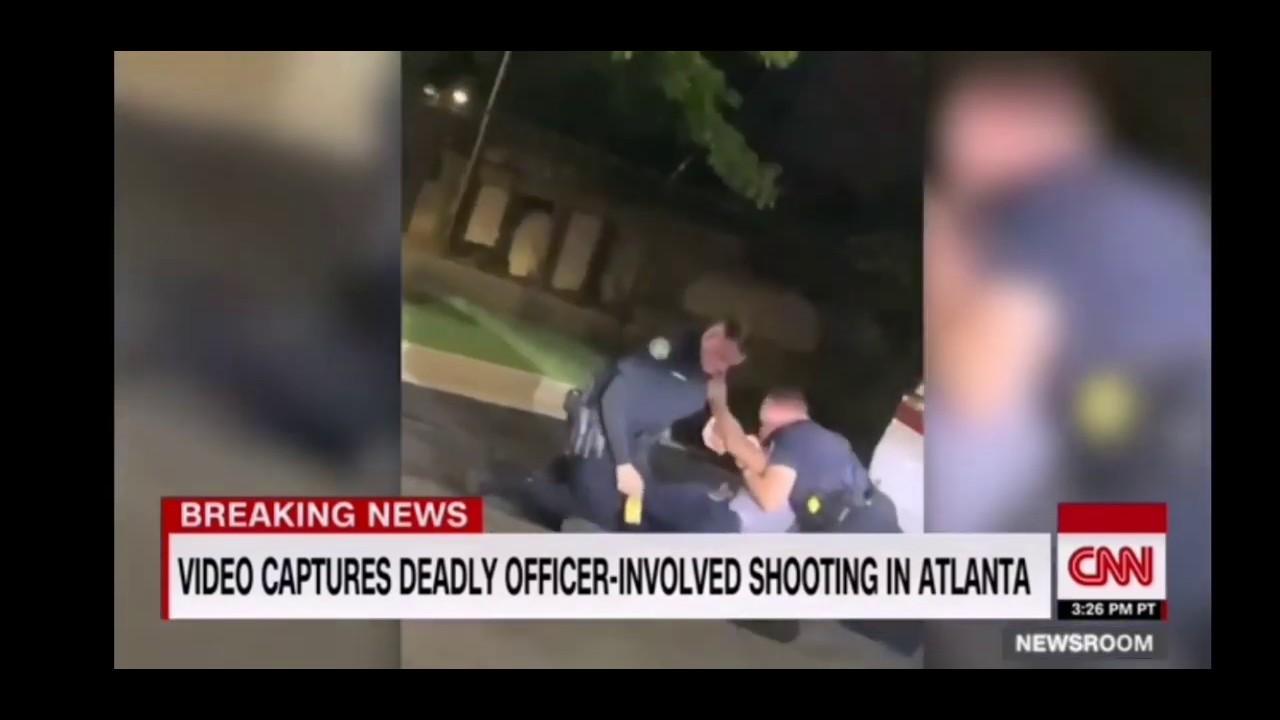 USA Atlanta Police Video Captured Shot Black Man after Teaser Gun grabbed.Watch on own Discretion