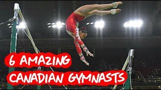 Famous Gymnasts From Canada