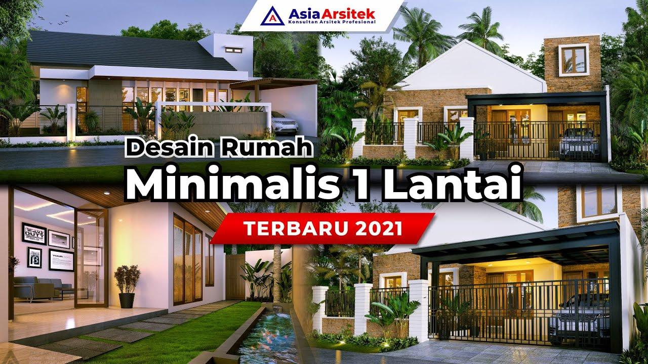 Desain Rumah Minimalis 1 Lantai Terbaru 2021 Youtube