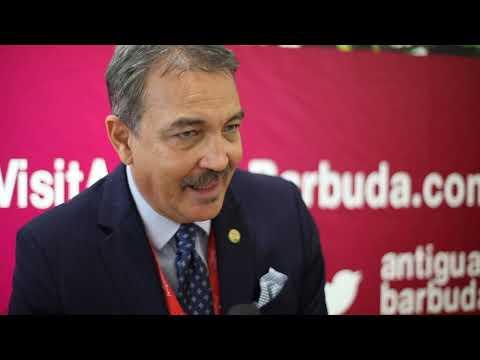 Charles Fernandez, minister of tourism, Antigua & Barbuda