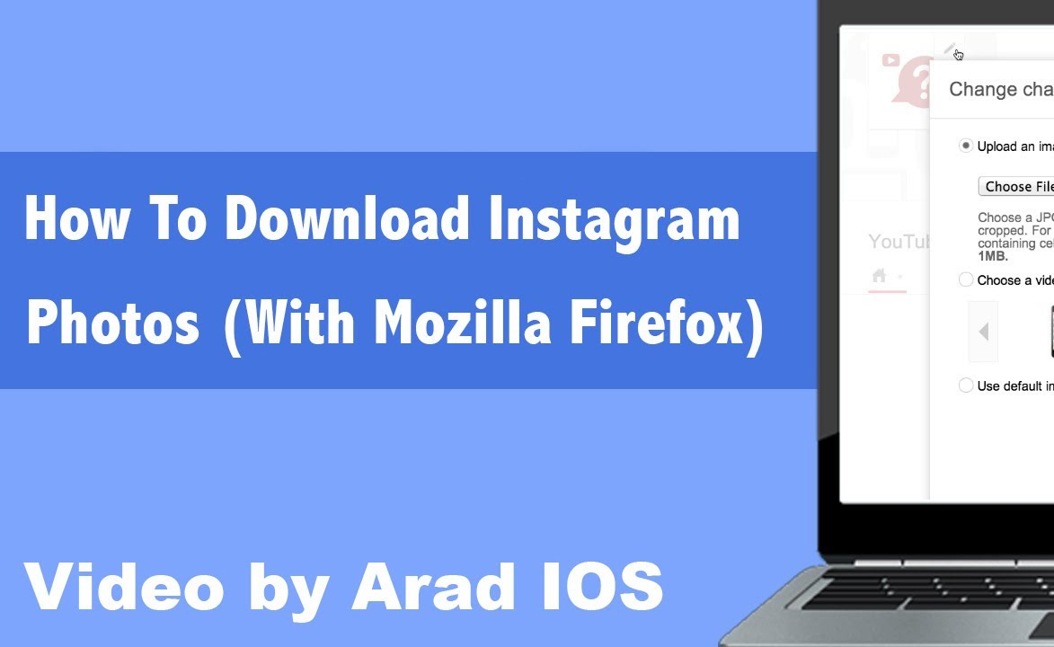 How To Download Instagram Photos (With Mozilla Firefox)