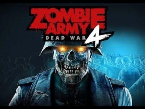 Zombie Army 4 Эксклюзивный Геймплей | Гитлер и Ария Тьмы Вернулись